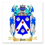 Platt Square Car Magnet 3