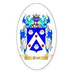 Platt Sticker (Oval 10 pk)