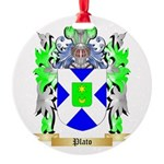 Plato Round Ornament