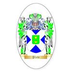 Plato Sticker (Oval 10 pk)