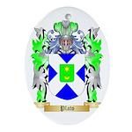 Plato Oval Ornament