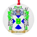 Plata Round Ornament