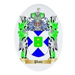 Plata Oval Ornament