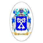 Plaschke Sticker (Oval 50 pk)