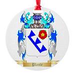 Plante Round Ornament