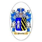 Planells Sticker (Oval 50 pk)