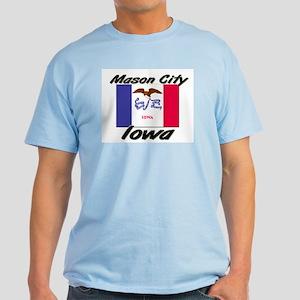 Mason City Iowa Light T-Shirt