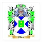 Plaice Square Car Magnet 3