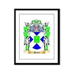 Plaice Framed Panel Print