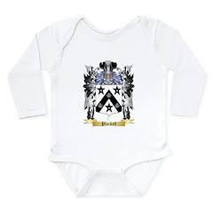 Plackett Long Sleeve Infant Bodysuit