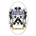 Plackett Sticker (Oval 50 pk)