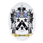 Plackett Oval Ornament