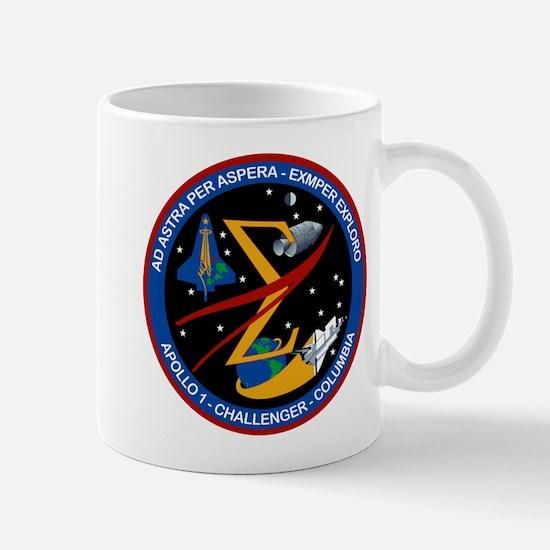 Space Flight Memorial Mug Mugs