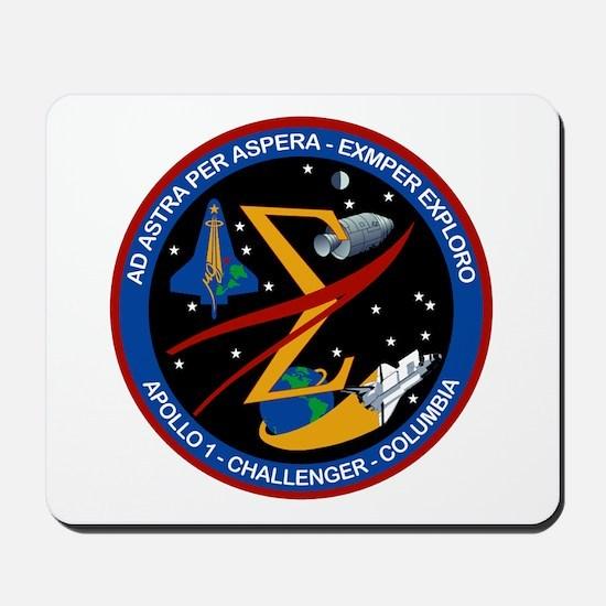 Space Flight Memorial Mousepad