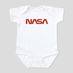 NASA Worm Logo Infant Bodysuit