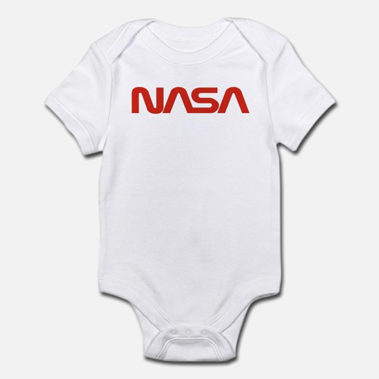 NASA Worm Logo Infant Bodysuit