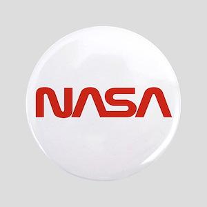 NASA Worm Logo Button