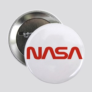 "NASA Worm Logo 2.25"" Button"
