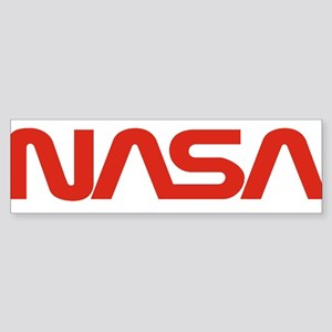 NASA Worm Logo Sticker (Bumper)
