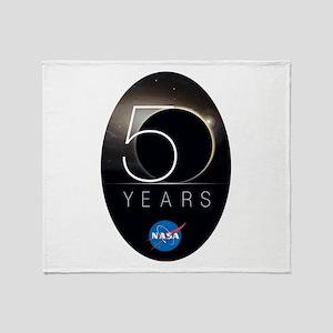 NASA @ 50! Throw Blanket