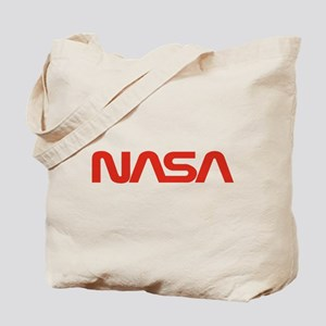 NASA Worm Logo Tote Bag