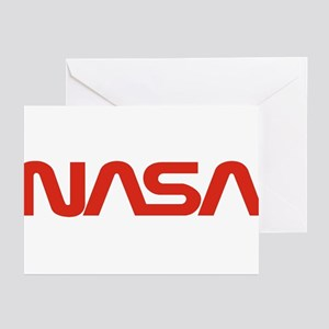 NASA Worm Logo Greeting Cards (Pk of 10)
