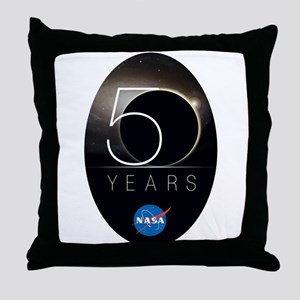 NASA @ 50! Throw Pillow