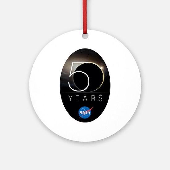 NASA @ 50! Round Ornament