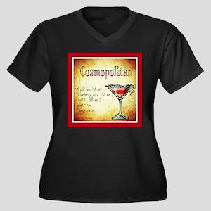 Red Cosmopolitan Plus Size T-Shirt