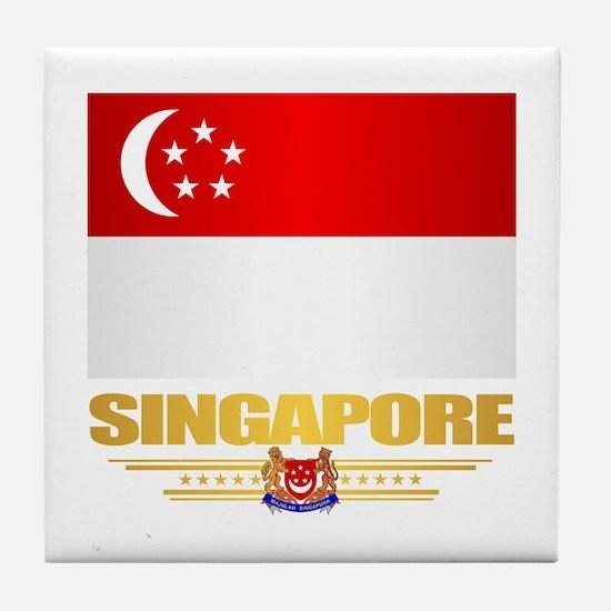 Singapore Tile Coaster