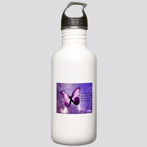butterfly poem Stainless Water Bottle 1.0L