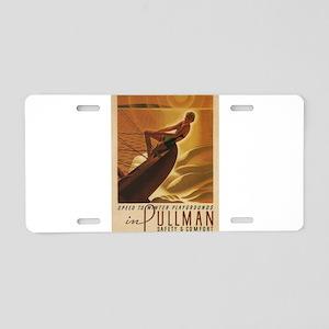 Vintage poster - Pullman Aluminum License Plate
