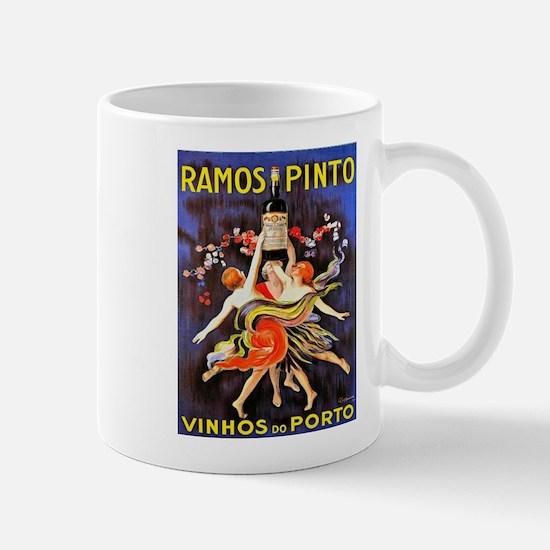 Vintage poster - Ramos Pinto Mugs