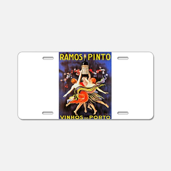 Vintage poster - Ramos Pint Aluminum License Plate