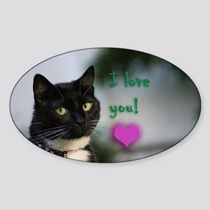 Kitty and love Sticker