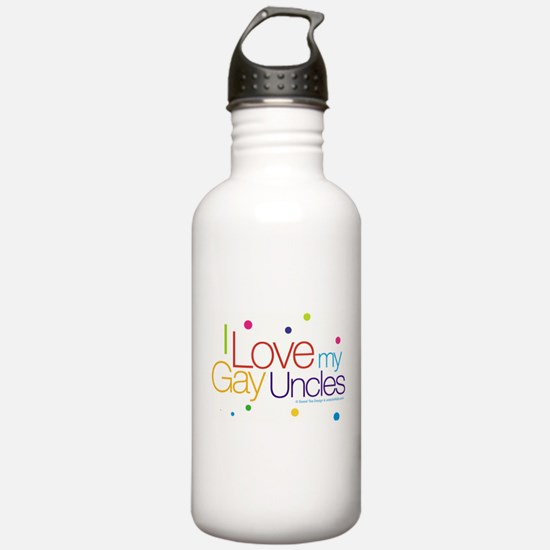 gayUncles-new.jpg Water Bottle