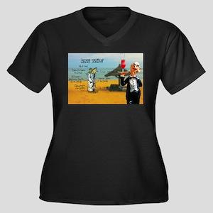 Blue Tahoe (Beach) Plus Size T-Shirt