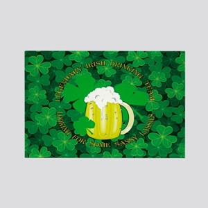 Legendary Irish Drinking Team Rectangle Magnet