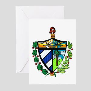Escudo Cubano Moderno Greeting Cards (Pk of 10