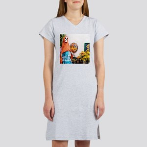 Day of the Dead Altar with Skeleton Lady i T-Shirt