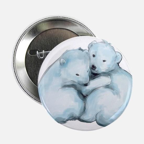 """Polar Bear Cubs 2.25"""" Button"""