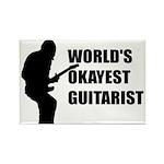 World's Okayest Guitarist Magnets