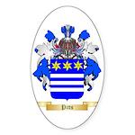 Pitts Sticker (Oval 50 pk)