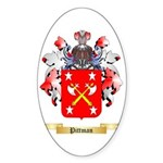 Pittman Sticker (Oval 10 pk)