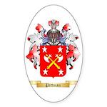 Pittman Sticker (Oval 50 pk)