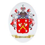 Pittman Oval Ornament
