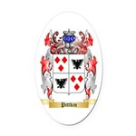 Pittkin Oval Car Magnet