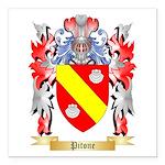 Pitone Square Car Magnet 3