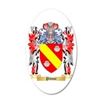 Pitone 35x21 Oval Wall Decal