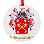 Pitman Round Ornament